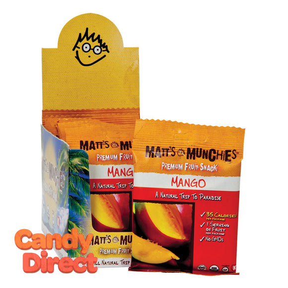 Matt's Mango Munchies 1oz - 12ct