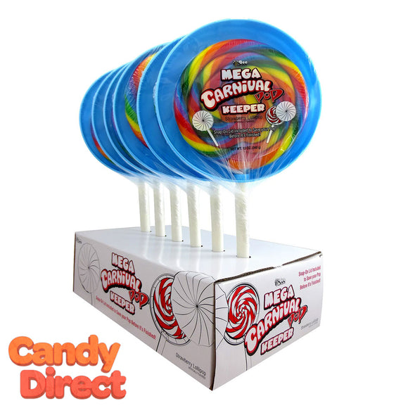 Mega Carnival Lollipop Keeper Case - 6ct