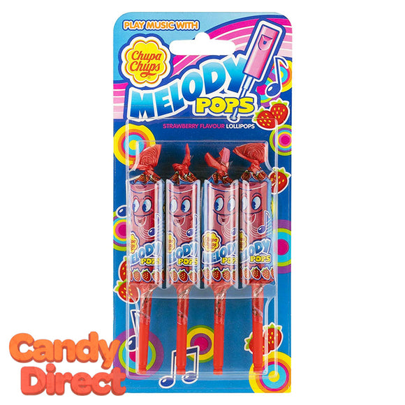 Melody Pops Strawberry 4-Packs - 36ct