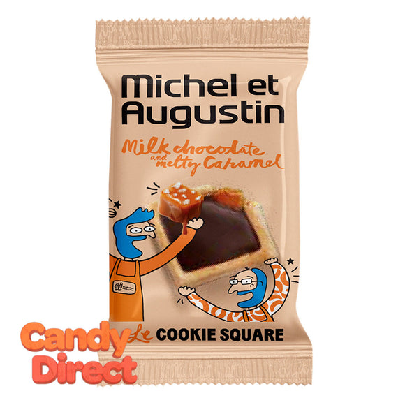Michel Et Augustin Caramel Mini Cookies Milk Chocolate - 180ct