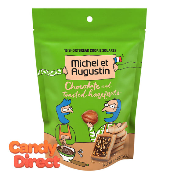 Michel Et Augustin With Hazelnut Milk Chocolate 4.4oz Pouch - 6ct