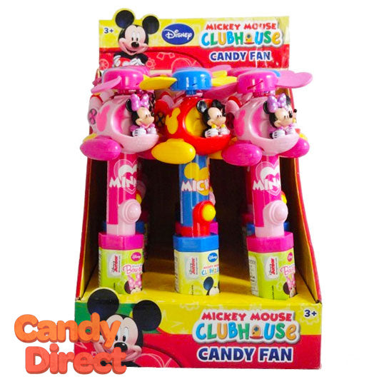 Mickey Mouse Clubhouse Helicopter Fans - 12ct