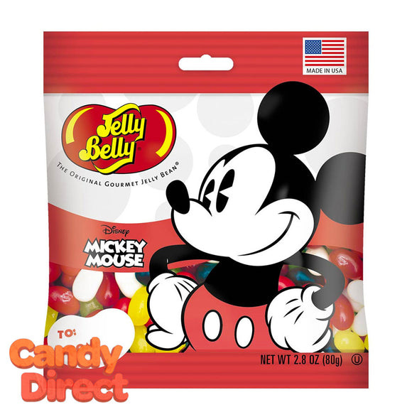 Mickey Mouse Jelly Belly Bags - 12ct