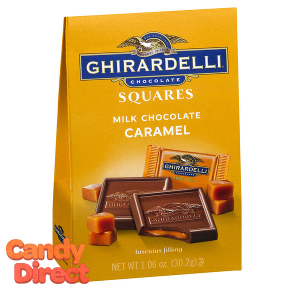 Milk Chocolate and Caramel Ghirardelli Squares - 24ct Small Bags