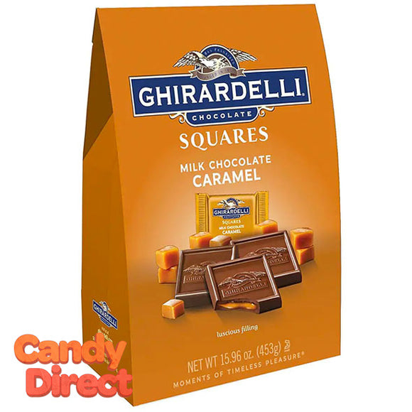 Milk Chocolate & Caramel Ghirardelli Squares - 6ct Large Bags