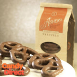 Milk Chocolate Covered Pretzels - 12ct Asher's Coffee Bags