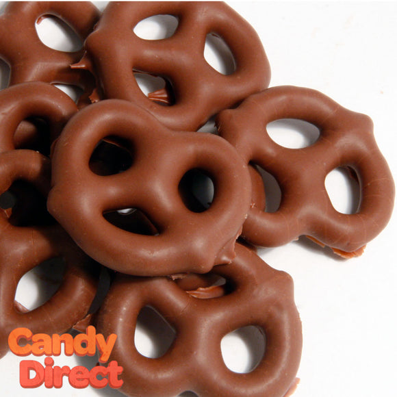 Milk Chocolate Pretzels - 15lb