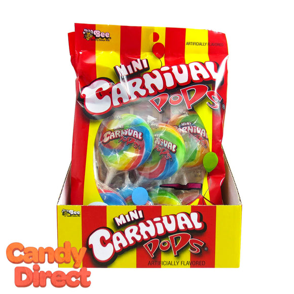 Mini Carnival Pops - 12ct Peg Bags