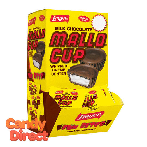 Mini Mallow Cups Candy - 60ct