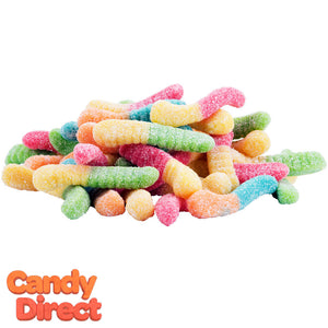 Mini Sour Gummy Worms - 5lb