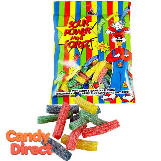 Mini Sour Power Sortz - 12ct Bags