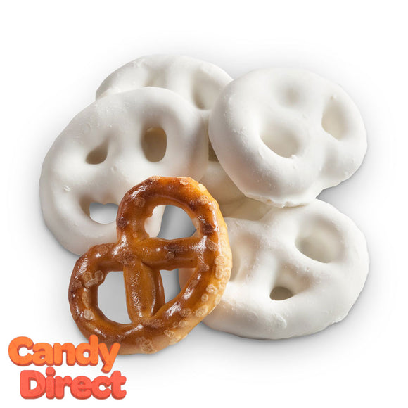 Mini Yogurt-Covered Pretzels - 10lb