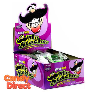Wack-O-Wax Mr Stache - 24ct