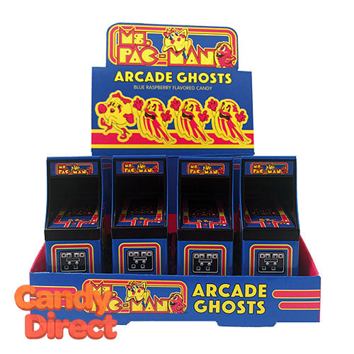 Ms Pac-Man Arcade Game Candy Boxes - 12ct