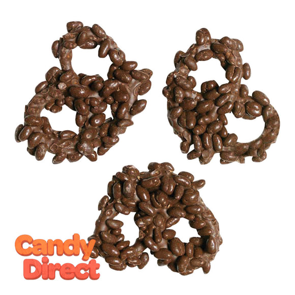 Nancy Adams Milk Chocolate Premier Pretzel With Crispies - 25ct