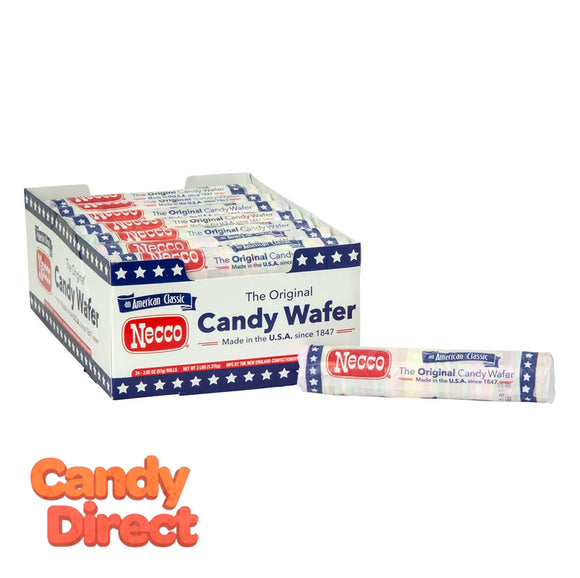Necco Wafers - Assorted 24ct