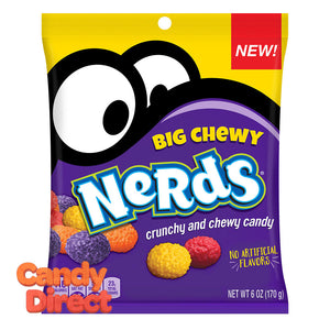 Nerds Chewy Big 6oz Peg Bag - 12ct