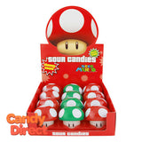 Nintendo Mushroom Sours Candy - 12ct