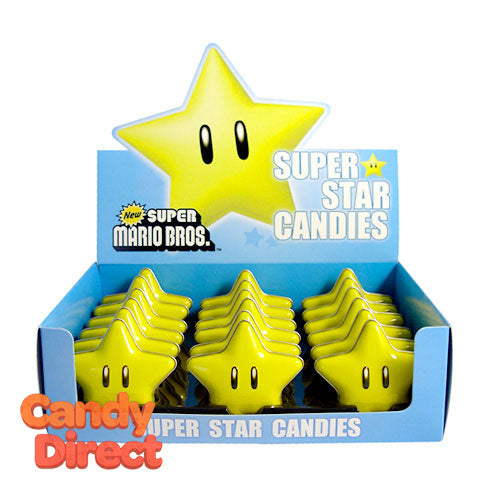 Nintendo Star Candy Tins - 18ct
