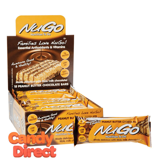 Nugo Protein Bar Peanut Butter 1.76oz - 15ct