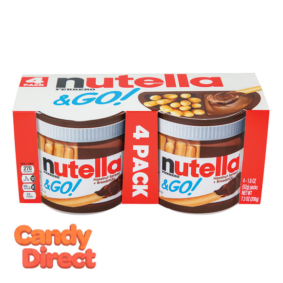Nutella Grab-and-Go 4 Pack 7.3oz - 6ct