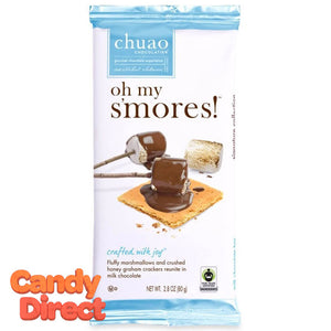 Oh My S'Mores! Chuao Milk Chocolate Bars - 10ct