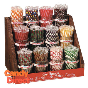 Old-Fashioned Sticks Display With Jars - 1ct