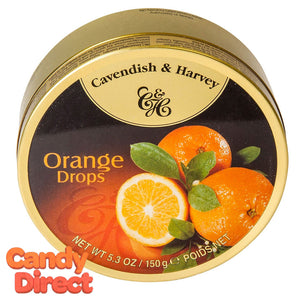 Orange Cavendish & Harvey Drops - 12ct Tins