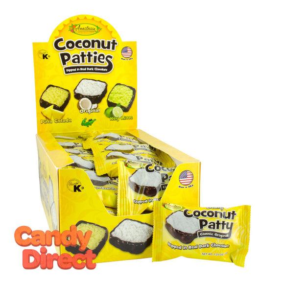 Original Coconut Anastasia Patties 1 Pc - 48ct