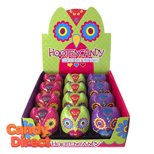 Owl Candy Tins Hootencandy - 12ct