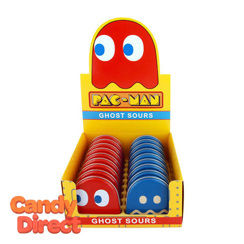 Pac Man Ghosts Candy Tins - 18ct