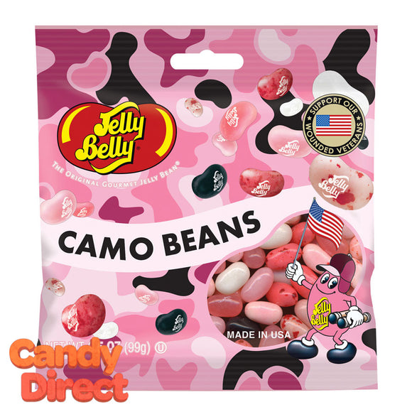 Pink Camo Jelly Beans Bags - 12ct