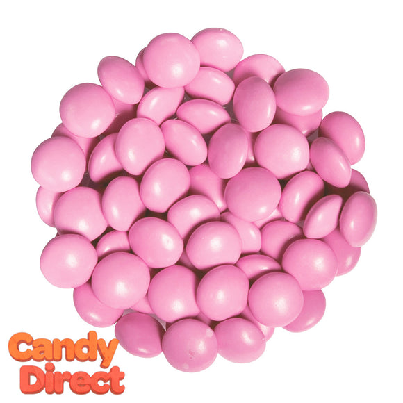 Pink Chocolate Gems Candy - 15lb