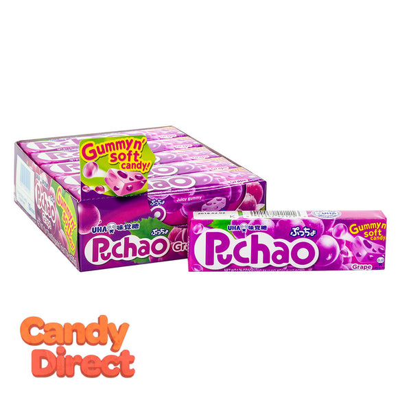 Puchao Grape Candy 1.76oz - 10ct