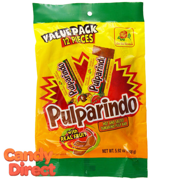 Pulparindo Tamarind Pulp Candy - 24ct Peg Bags