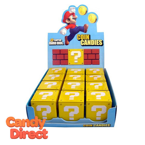 Question Mark Super Mario Coin Candies - 12ct