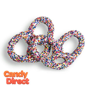 Rainbow Pretzels Chocolate Multi Seed - 6lb
