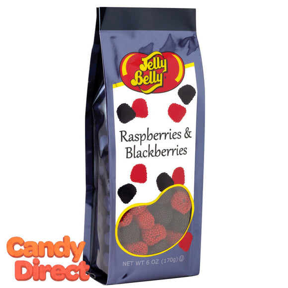 Raspberries and Blackberries Jelly Belly Gift Bags - 12ct