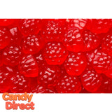 Red Gummy Raspberries - 5lb