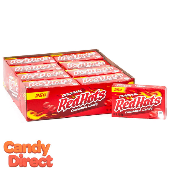 Red Hots Candy - 24ct Boxes