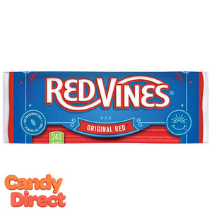 Red Licorice Candy Bars Red Vines - 16ct