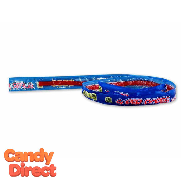 Red Licorice Super Ropes Candy - 15ct