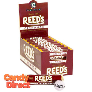 Reed's Cinnamon Rolls Candy - 24ct