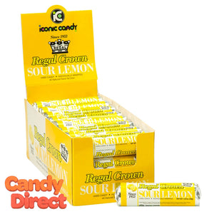 Regal Crown Sour Lemon Rolls - 24ct