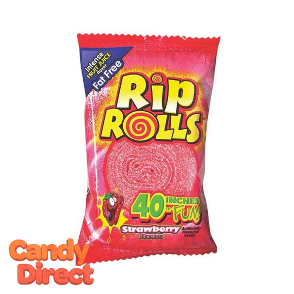 Rip Rolls - Strawberry 24ct Display Box