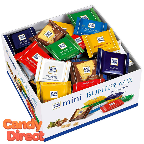 Ritter Sport Mini Bars - 84ct