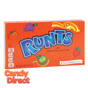 Runts Candy Theater boxes - 12ct