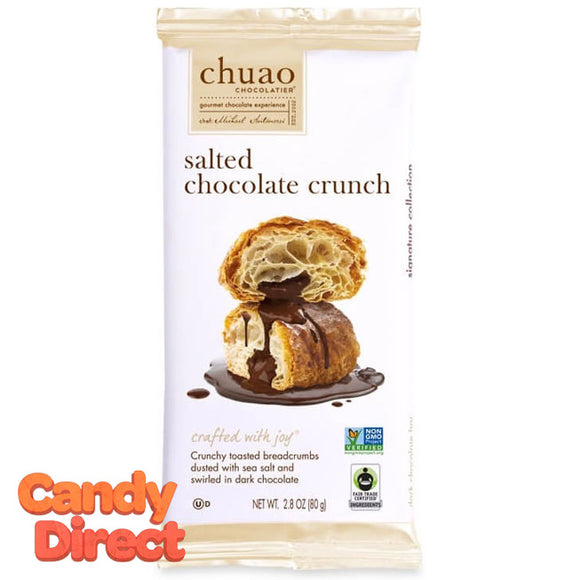 Salted Chocolate Crunch Chuao Bar - 12ct