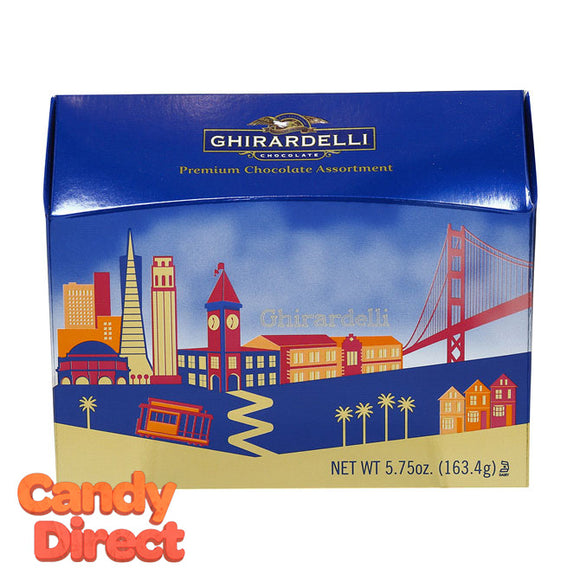 San Francisco Skyline Ghirardelli Chocolate Gift Box - 9ct