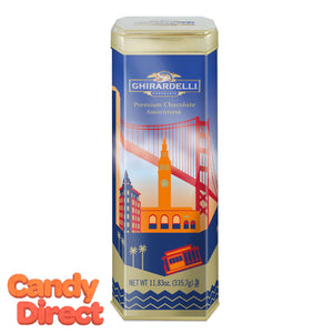 Ghirardelli San Francisco Tower Gift Tin - 6ct